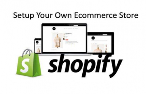 SET UP YOUR SHOPIFY STORE – DECORATE YOUR SHOP